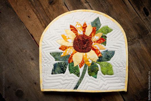 Кухня ручной работы. Ярмарка Мастеров - ручная работа. Купить Кусочек лета. Handmade. Желтый, пэчворк, стеганая ткань