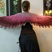 """Шали ручной работы. Ярмарка Мастеров - ручная работа Шали: Шаль """" Крылья"""". Handmade."""