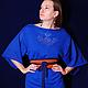 Платья ручной работы. Платье-кимоно. Katerina Kulida. Интернет-магазин Ярмарка Мастеров. Свободное платье, вязаное платье