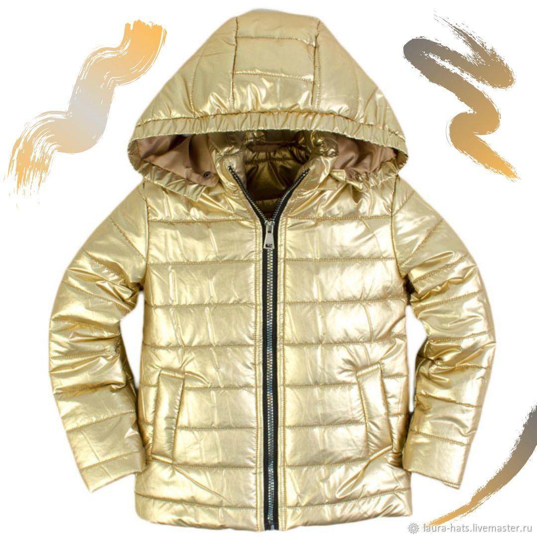 Куртка для девочки демисезонная Куртка детская лаковая, Одежда, Москва, Фото №1