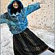 """Верхняя одежда ручной работы. Куртка """"Весенняя рапсодия"""". Садыкова Ирина. Ярмарка Мастеров. Куртка с капюшоном, Меринос 18 микрон"""