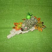 Куклы и игрушки ручной работы. Ярмарка Мастеров - ручная работа Ежик из репейника. Handmade.