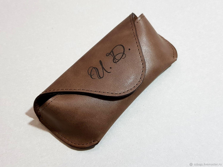 e26491064c2 Cases eyeglass cases handmade livemaster handmade buy eyeglass case leather  case jpg 1500x1125 Leather eye glass