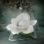 Куклы и игрушки handmade. Livemaster - original item A cradle for a doll Lotus. Handmade.