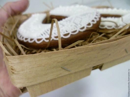 Упаковка ручной работы. Ярмарка Мастеров - ручная работа. Купить Плетеное лукошко 14х17х4 см для сладостей и сувениров. Handmade. Лукошко