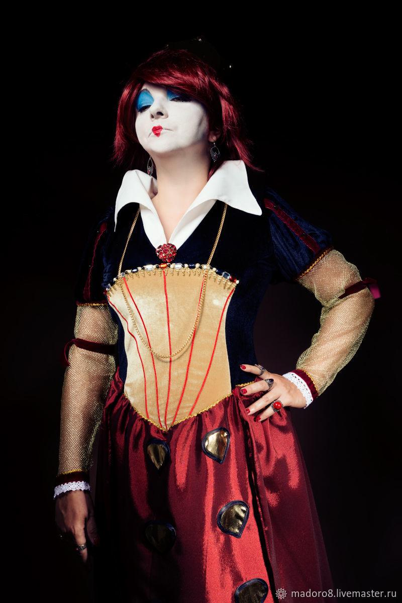 Червовая королева костюм своими руками фото 594