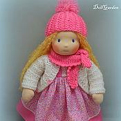 Куклы и игрушки ручной работы. Ярмарка Мастеров - ручная работа Неженка, вальдорфская кукла 40 см.. Handmade.