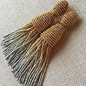 Украшения ручной работы. Ярмарка Мастеров - ручная работа Кисти из индийского бисера. Handmade.