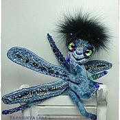 Куклы и игрушки ручной работы. Ярмарка Мастеров - ручная работа Стрекоза Егоза. Handmade.