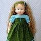 Вальдорфская игрушка ручной работы. Апрелька, 39 см. svetlana. Интернет-магазин Ярмарка Мастеров. Вальдорфская кукла, кукла, игрушка