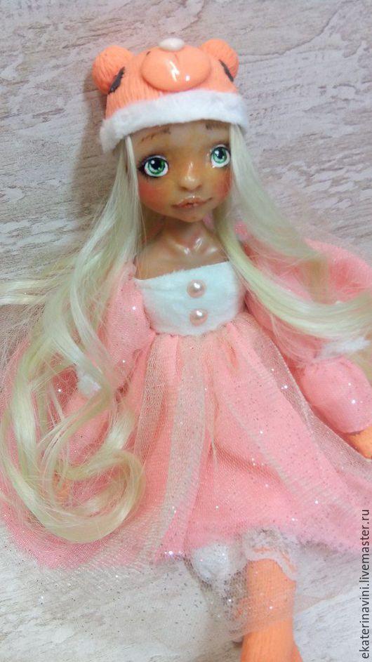 Коллекционные куклы ручной работы. Ярмарка Мастеров - ручная работа. Купить Винили  orange bear( продана). Handmade. Рыжий