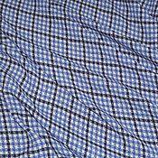 Ткани ручной работы. Ярмарка Мастеров - ручная работа Минус 30% Плательная вискоза в клетку Max Mara. Handmade.