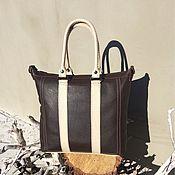 """Сумки и аксессуары ручной работы. Ярмарка Мастеров - ручная работа Кожаная сумка """" Mrs  Brown little"""". Handmade."""