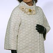 """Одежда ручной работы. Ярмарка Мастеров - ручная работа Пальто-кокон """"Жаклин-оверсайз"""". Handmade."""