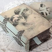 Подарки к праздникам handmade. Livemaster - original item Gift on March 8 Book-Box
