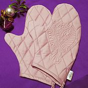 Для дома и интерьера handmade. Livemaster - original item potholders-gloves. Handmade.
