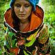 Light Cotton Coat with Tropic Fruits Print. Coats. Mongolia. My Livemaster.Фото №5