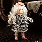 Куклы и игрушки ручной работы. Ярмарка Мастеров - ручная работа Куколка из антикварных деталей Леночка. Handmade.