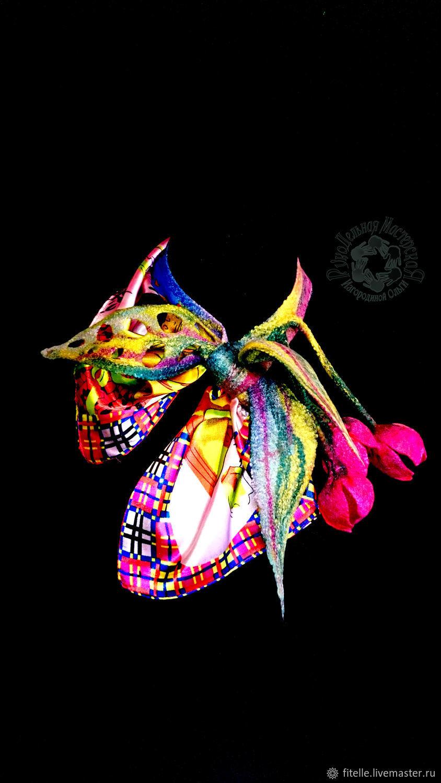 Neck scarf ' Kaleidoscope', Shawls1, Kalachinsk,  Фото №1