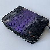 Сумки и аксессуары handmade. Livemaster - original item The wallet is made of Python leather small. Handmade.