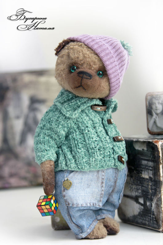 Мишки Тедди ручной работы. Ярмарка Мастеров - ручная работа. Купить Мишка Тедди Тимошка. Handmade. Мишка, тедди медведи