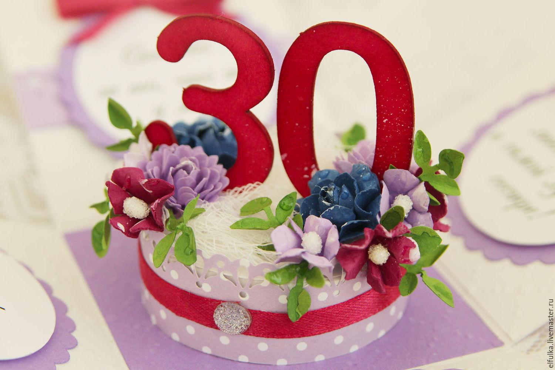 Поздравления с днем рождения женщине 30 лет своими словами