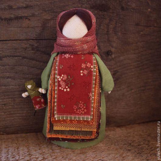 """Народные куклы ручной работы. Ярмарка Мастеров - ручная работа. Купить Народная русская куколка """"Осенние чувства"""". Handmade. Разноцветный"""