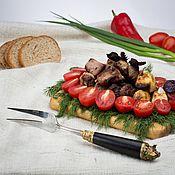 Вилки ручной работы. Ярмарка Мастеров - ручная работа Вилка для мяса. Handmade.