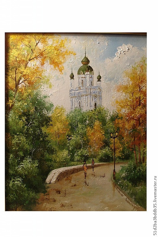 Город ручной работы. Ярмарка Мастеров - ручная работа. Купить Киев. Handmade. Картина, картина в подарок, картина для интерьера