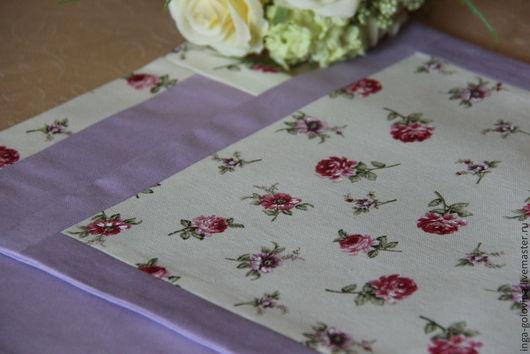 Текстиль, ковры ручной работы. Ярмарка Мастеров - ручная работа. Купить декоративные салфетки дух прованса. Handmade. Разноцветный