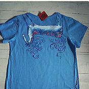 Одежда ручной работы. Ярмарка Мастеров - ручная работа Лошадушка футболка женская. Handmade.