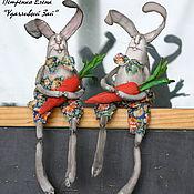Куклы и игрушки ручной работы. Ярмарка Мастеров - ручная работа Удачливый Зай. Handmade.