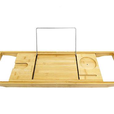 Мебель ручной работы. Ярмарка Мастеров - ручная работа Столик для ванной подставка для планшета, бокала и чтения книг. Handmade.