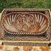 Для дома и интерьера handmade. Livemaster - original item A bread box of birch bark