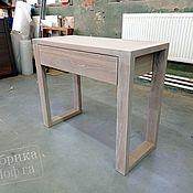 Для дома и интерьера handmade. Livemaster - original item Dressing table made of oak 900h400 mm. Handmade.