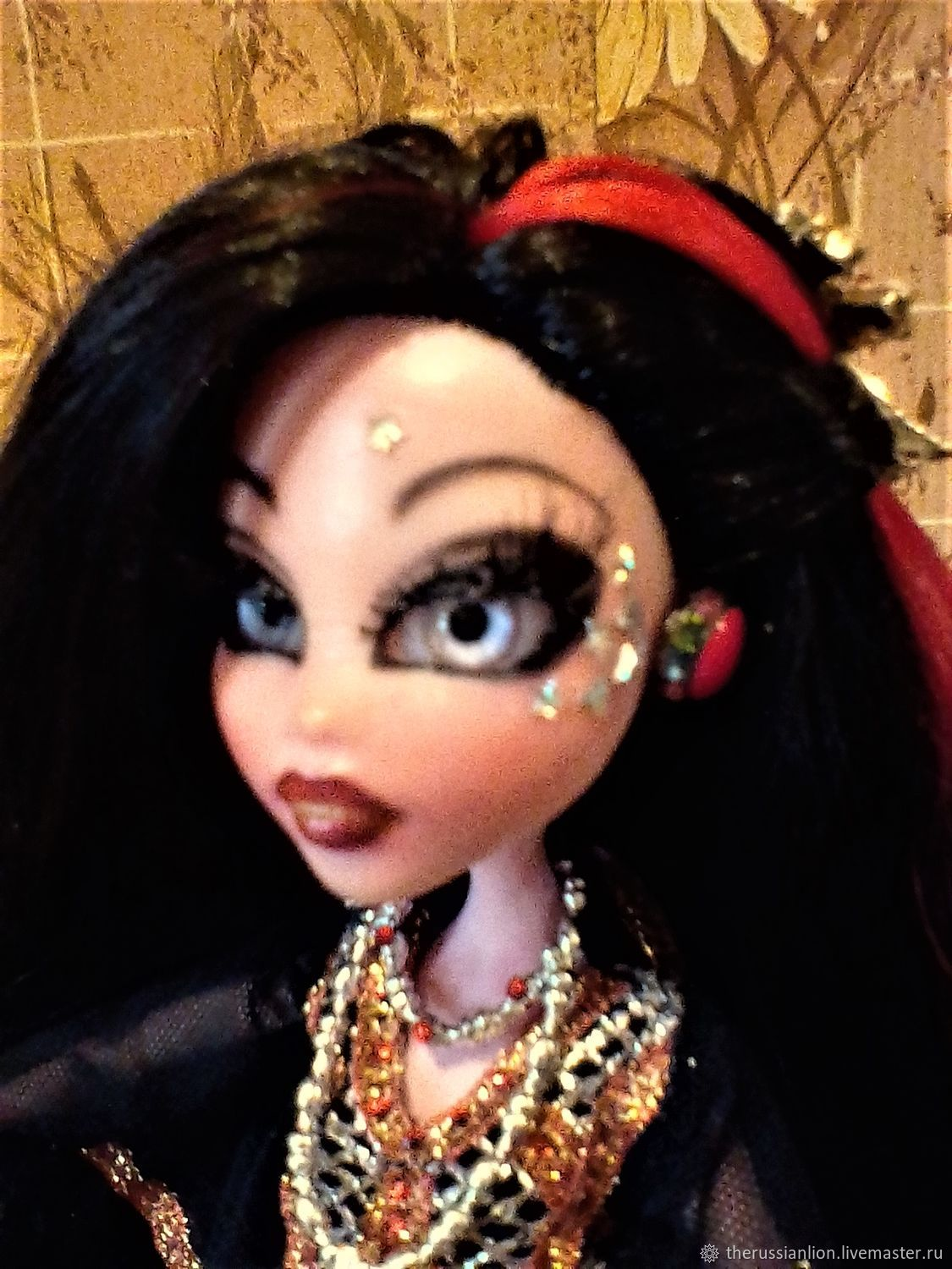 Handmade articulated doll 001 ' CARMEN', Ball-jointed doll, Kostroma,  Фото №1