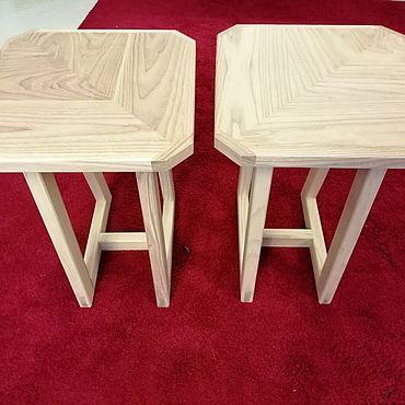 Мебель ручной работы. Ярмарка Мастеров - ручная работа Табурет из ясеня. Handmade.