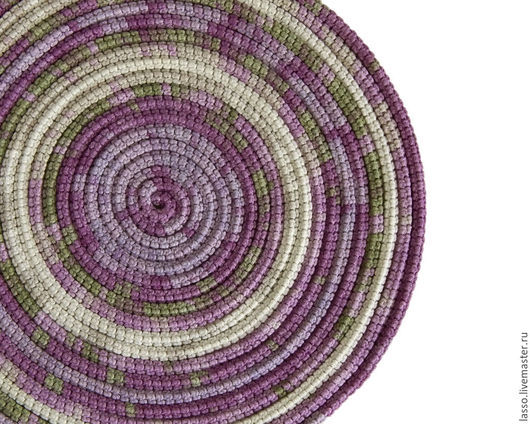 Колье, бусы ручной работы. Ярмарка Мастеров - ручная работа. Купить ШарфоБусы Lasso Lavender. Handmade. Украшение на шею