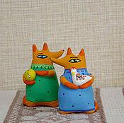 Куклы и игрушки ручной работы. Ярмарка Мастеров - ручная работа Сказочная Лиса. Handmade.