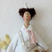 Для дома и интерьера ручной работы. Ярмарка Мастеров - ручная работа Хранительница ватных дисков и ватных палочек. Handmade.