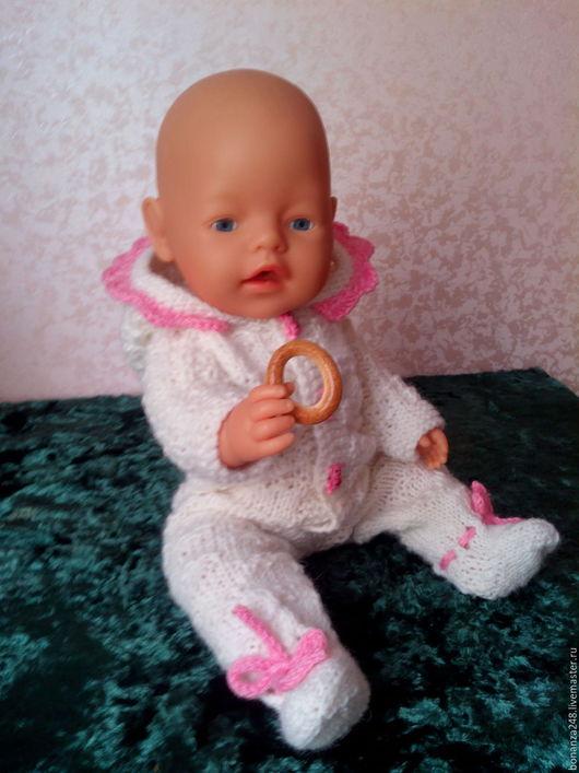 Одежда для кукол ручной работы. Ярмарка Мастеров - ручная работа. Купить одежда для куклы пупса Беби Бон. Handmade. Комбинированный