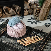 Материалы для творчества handmade. Livemaster - original item Set Of hooks for knitting from Siberian cedar (6 pieces 4-9 mm.) KN22. Handmade.