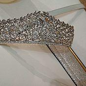 Свадебный салон handmade. Livemaster - original item Accessories: tiara. Handmade.