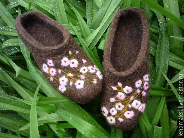 Slippers 'Warm tenderness', Slippers, Aleksin,  Фото №1