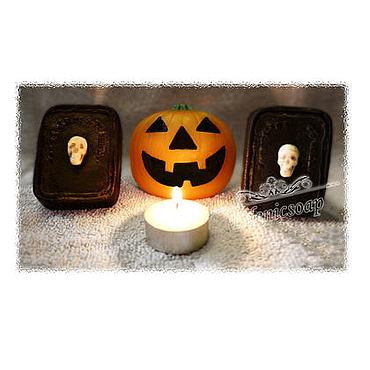 """Косметика ручной работы. Ярмарка Мастеров - ручная работа Мыло ручной работы """" К Хэллоуину"""" в ассортименте. Handmade."""