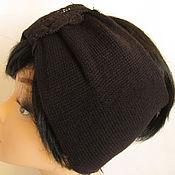 Аксессуары handmade. Livemaster - original item Lace headband black. Handmade.