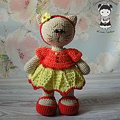 Куклы и игрушки handmade. Livemaster - original item Cat toy Alice. Handmade.