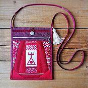 Русский стиль handmade. Livemaster - original item Handbag-delicatessen PURPOSEFULNESS. Handmade.