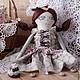 """Коллекционные куклы ручной работы. """"Шоколадная глазурь"""" - кукла, ручной работы.. SharmGallery.... Интернет-магазин Ярмарка Мастеров. Подарок ребенку"""