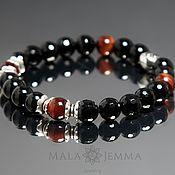 Украшения handmade. Livemaster - original item Bestseller! Men`s bracelet natural stone. Handmade.